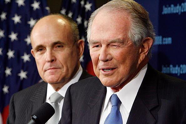 Pat Roberston and Giuliani