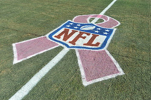 NFL Pink Ribbon