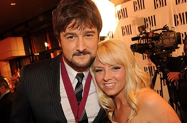 Eric Church and wife