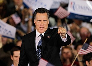 Mitt Romeny Holds Florida Primary Night Party In Tampa