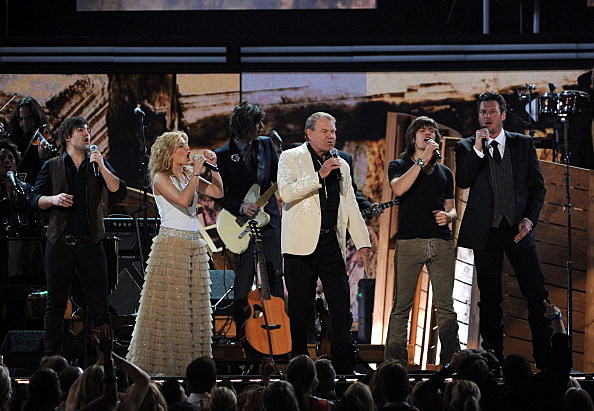 The Band Perry, Blake Shelton and Glen Campbell