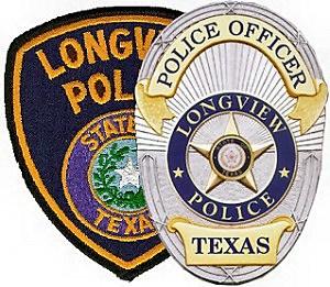 Longview Police Badge
