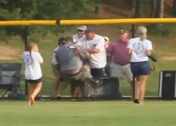 Embarrassing Parents Get Into Fight At Little League Game