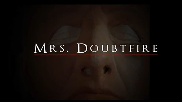 Mrs. Doubtfire Horror Movie Trailer