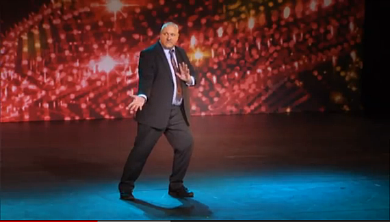 Dad Dances on 'Belgium's Got Talent'