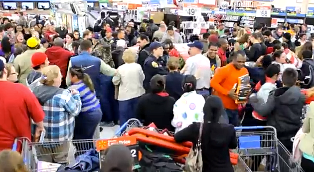 Black Friday Fights 2012 Where America Brings Out The
