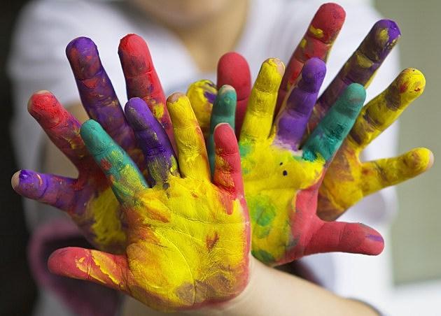 Image result for kids doing art