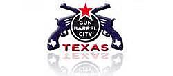 gun barrel city logo