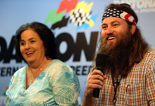 Duck Dynasty Willie Robertson and Kay Robertson