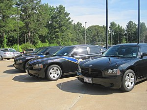Donated Sheriff Cars
