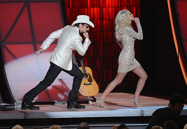 Brad Paisley and Carrie Underwood - 46th CMA Awards