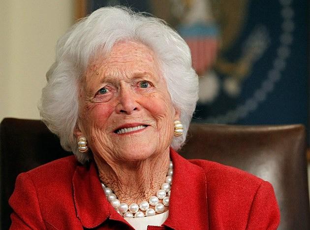 Former Frist Lady Barbara Bush