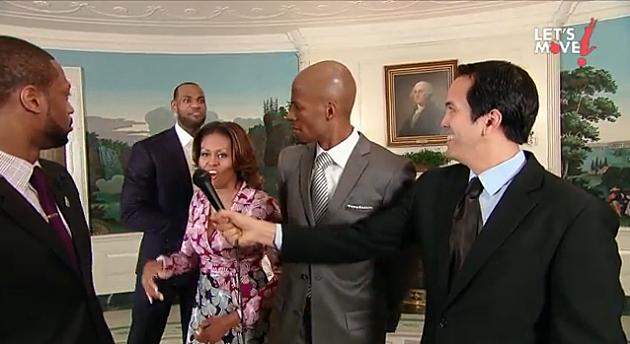 "Michelle Obama ""Let's Move"" Porject"