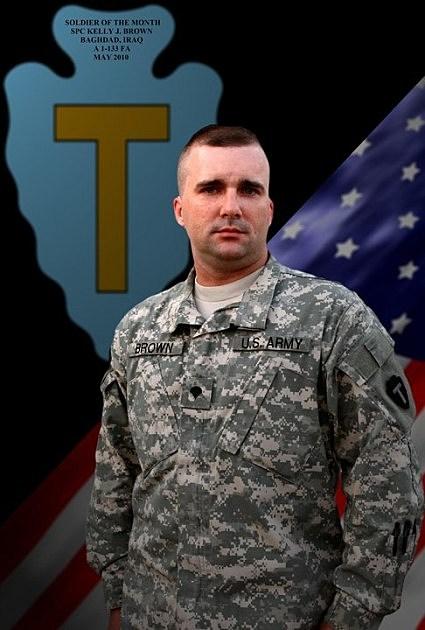 Army Sgt. Kelly Brown
