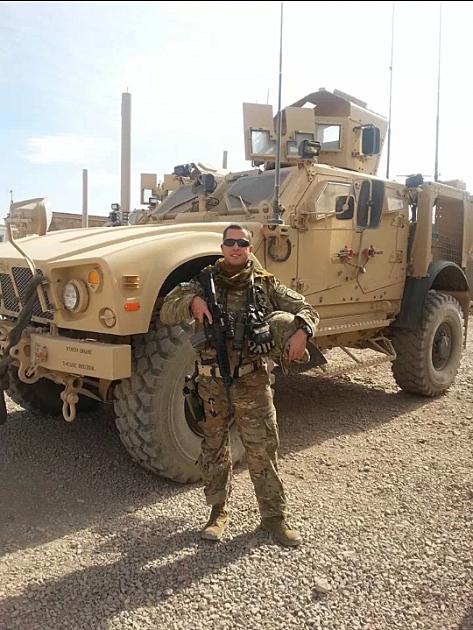 Sgt. Jamie Britt of the U.S. Air Force