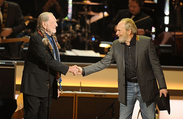Merle Haggard and Willie Nelson