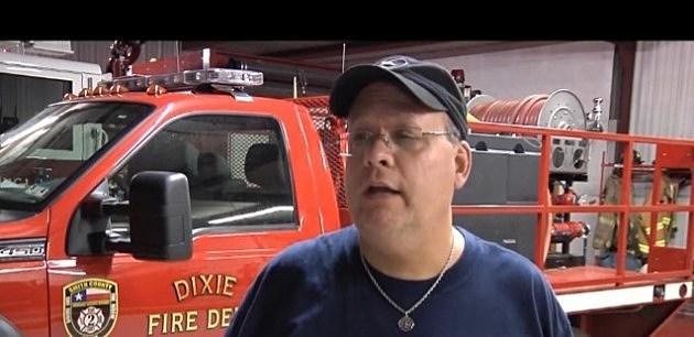 Fire Chief Matt York of Dixie Fire Dept.