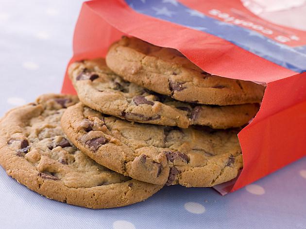 Bag Of Milk Chocolate Chip Cookies